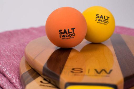 Frescobol Set by Salt in Wood with balls