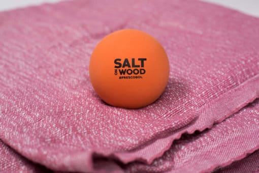 Ball for Frescobol by Salt on Wood