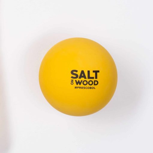 Ball for Frescobol by Salt on Wood