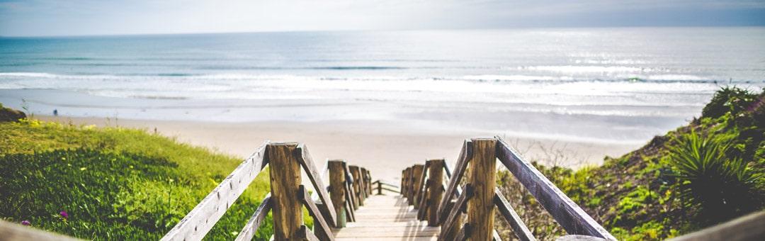 Strand für Frescobol