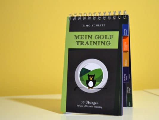 Trainings-Buch Mein Golf Training