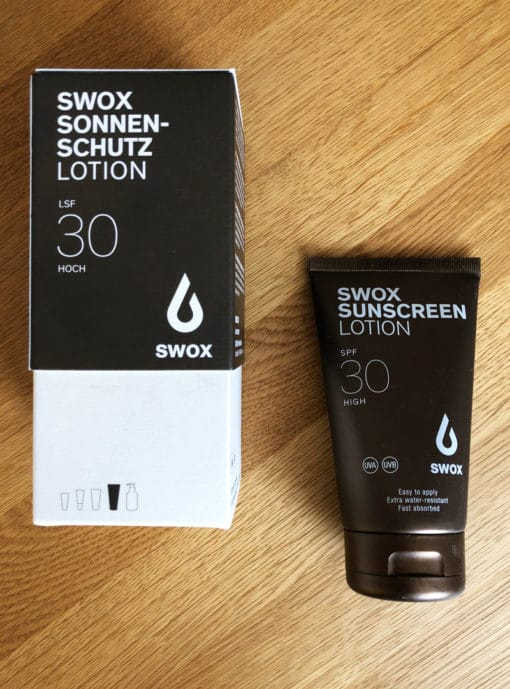 Sunscreen from SWOX