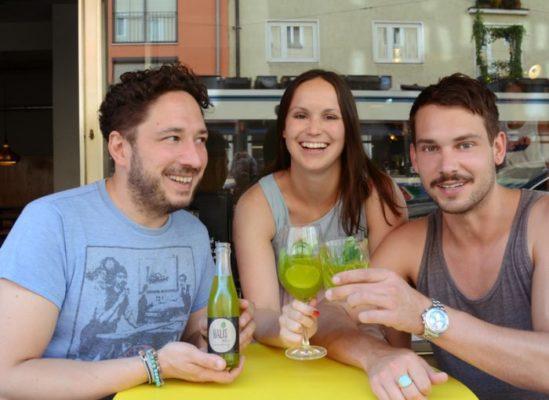 Das Team von Balis: Kris Krolo, Jasmin und Robert Redweik