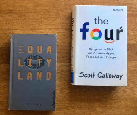 Buch-Tipps: The Four und QualityLand