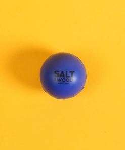 Leichter und langsamer Ball aus Schaumstoff für Frescobol in Blau
