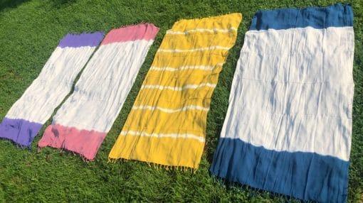 Pestemal Handtuch für den Strand