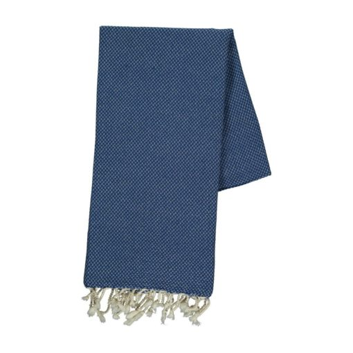 Pestemal cotton beach towel with jacquard pattern