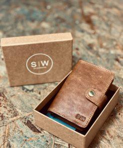 Slim Wallet Geldbörse COWBOY von SALT ON WOOD